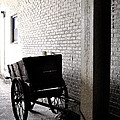 The Old Cart From The Series View Of An Old Railroad by Verana Stark
