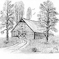 The Old Country Barn by Syl Lobato