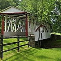 The Old Covered Bridge by Jean Goodwin Brooks