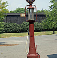 The Old Gas Pump by Roger Potts