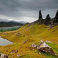 The Old Man Of Storr by Jim Southwell