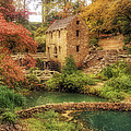 The Old Mill In Autumn - Arkansas - North Little Rock by Jason Politte