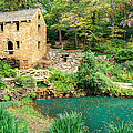 The Old Mill - North Little Rock - Pugh's Mill 1832 by Gregory Ballos