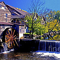 The Old Mill by Paul W Faust -  Impressions of Light