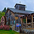 The Old Mill Restaurant - Old Forge New York by David Patterson