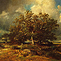 The Old Oak by Jules Dupre