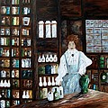 The Old Pharmacy ... Medicine In The Making by Eloise Schneider Mote