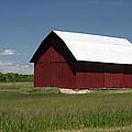 The Old Red Barn by Linda Kerkau
