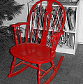 The Old Red Rocking Chair by Pat Follett