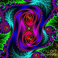 The Old Stuffed Chair - Fractal by Mary Machare