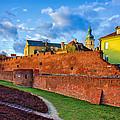 The Old Town View by Tomasz Dziubinski