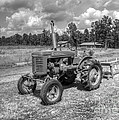 The Old Tractor by Kathy Baccari