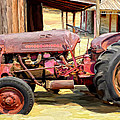 The Old Tractor by Michael Pickett