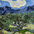 The Olive Tree by Vincent Van Gogh