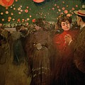 The Open Air Party by Ramon Casas i Carbo
