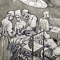 The Operation Theatre, 1966 by Osmund Caine