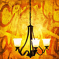 The Orange Lamp by Eyzen M Kim
