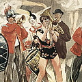 The Orchestra Of The Circus. 1888-1889 by Everett