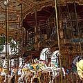 The Original French Carousel by Jaroslav Frank