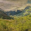 The Other Side Of Trollstigen Norway by Angela Stanton