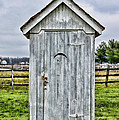 The Outhouse - 2 by Paul Ward