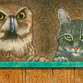 The Owl And The Pussycat... by Will Bullas