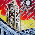 The Oxo Tower by Laura Hol Art