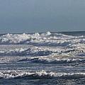 The Pacific Ocean Near Oceanside Ca by Tom Janca