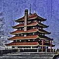The Pagoda by Trish Tritz