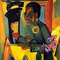 The Painter - Self Portrait by Ernst Ludwig Kirchner