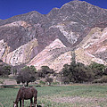 The Painters Palette Jujuy Argentina by James Brunker
