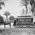 The Palm Beach Trolley by Bill Cannon