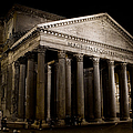 The Pantheon At Night by Weston Westmoreland