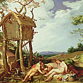 The Parable Of The Wheat And The Tares by Abraham Bloemaert