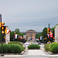 The Parkway And Art Museum by Bill Cannon