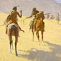 The Parley by Frederic Remington