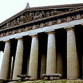 The Parthenon Nashville Tn by Jodie Marie Anne Richardson Traugott          aka jm-ART