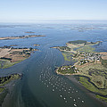 The Passage In The Gulf Of Morbihan by Laurent Salomon
