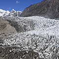The Passu Glacier And Mountains by Robert Preston