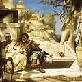 The Patrician's Siesta by Hendrik Siemiradzki