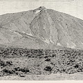 The Peak Of Tenerife, From The Canadas On The South by Canadian School