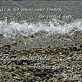 The Pebbled Shore 2 by Joan-Violet Stretch