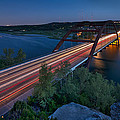 The Pennybacker Bridge At Twilight by Tim Stanley
