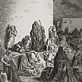 The People Mourning Over The Ruins Of Jerusalem by Gustave Dore
