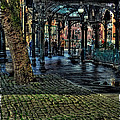 The Pergola In Pioneer Square IIi by David Patterson