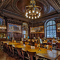 The Periodical Room At The New York Public Library by Susan Candelario