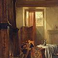 The Philosopher by Hubertus van Hove