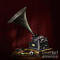The Phonograph 5 by Ann Garrett