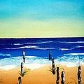 The Picket Beach by Sylviane Nuccio