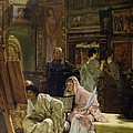 The Picture Gallery, 1874 by Sir Lawrence Alma-Tadema